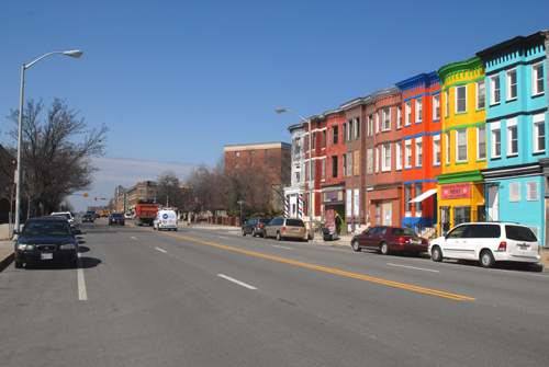 North Avenue near Pennsylvania Avenue